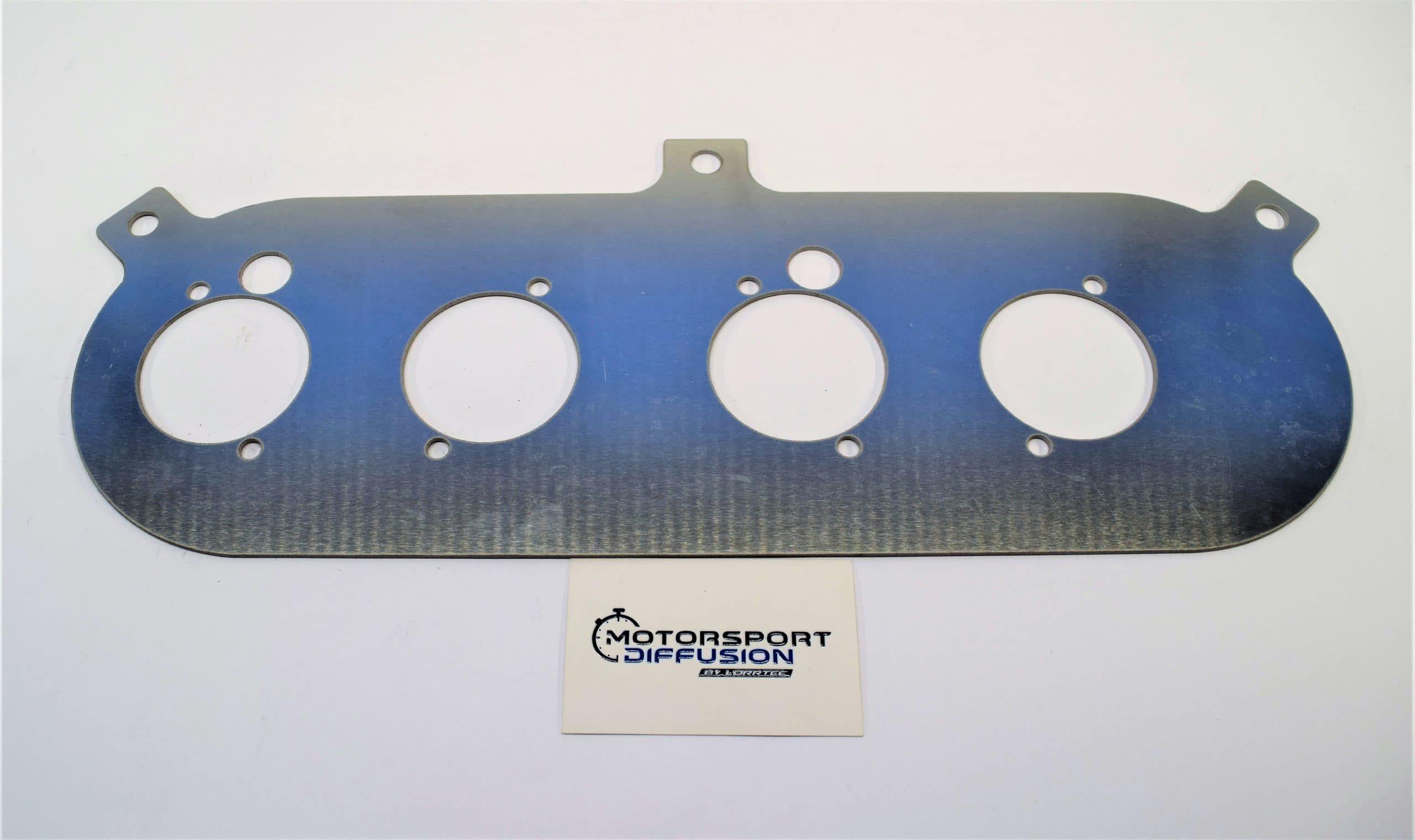 Plaque aluminium pour filtre à air Ford BDG