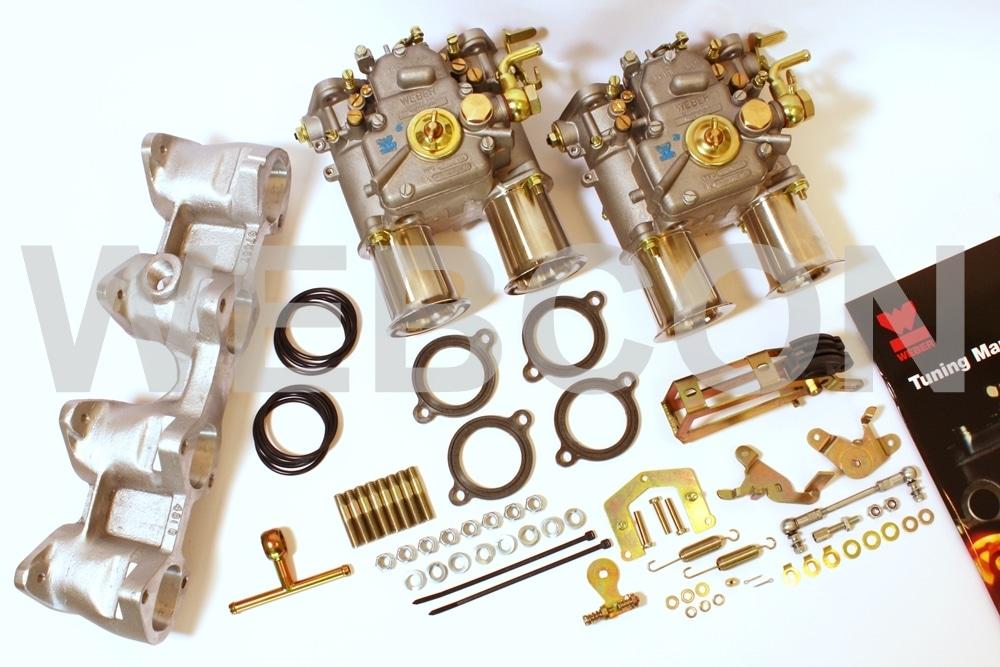 Kit carburateurs Weber et pipe d'admission BMW 2002 TI