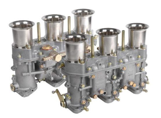 carburateur triple corps Weber 46 IDA