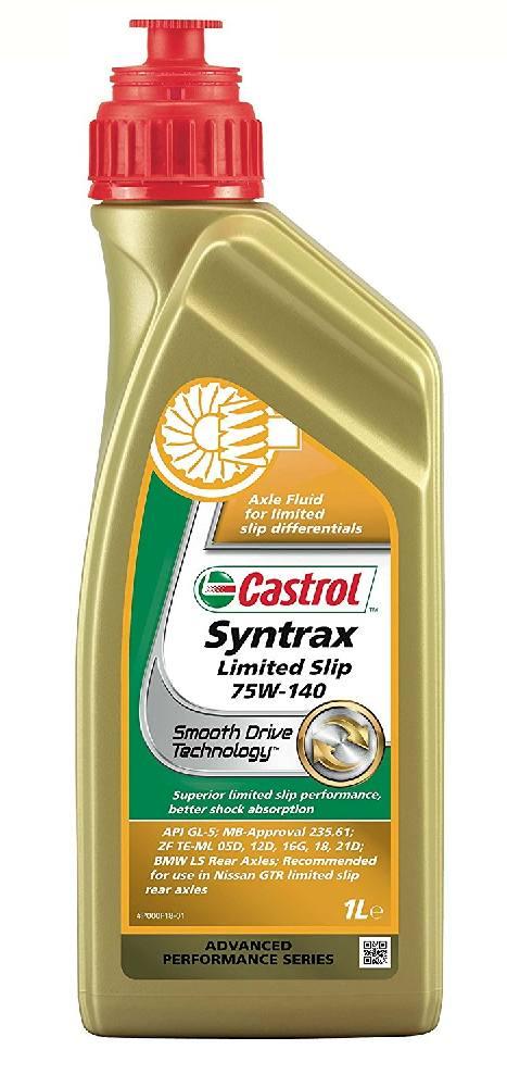 Huile Castrol Syntrax 75W140