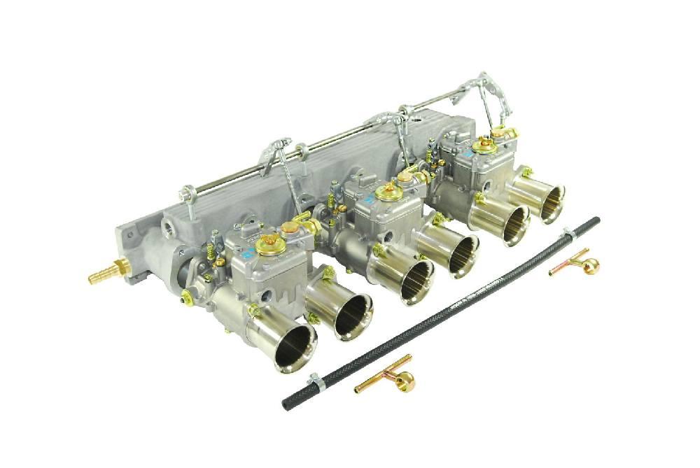 Kit carburateurs Weber et pipe d'admission Jaguar Type E 3.8-4.2