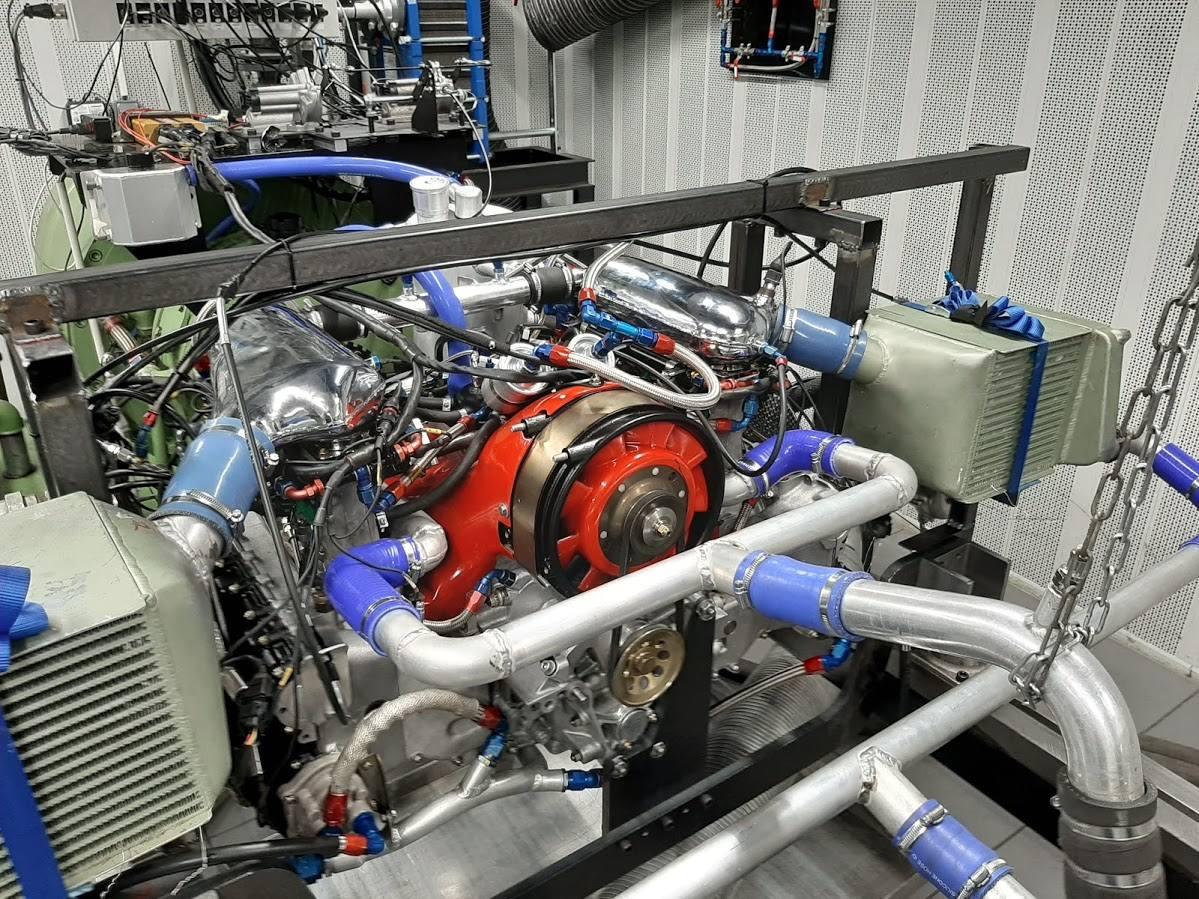 moteur porsche 962 Banc moteur