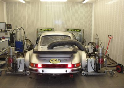 porsche 934 turbo passage au banc